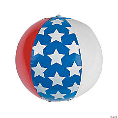 Inflatable American Flag Beach Balls