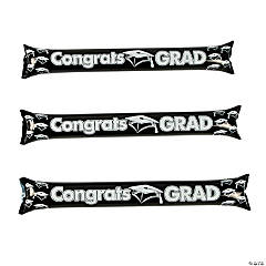 Inflatable Black Graduation Boom Sticks