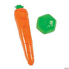 Inflatable Carrot Bat & Ball Set