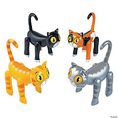 Inflatable Cats