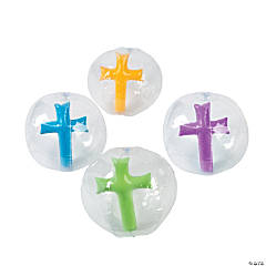 Inflatable Cross in Beach Balls