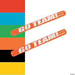 Inflatable Go Team Noisemaker Sticks