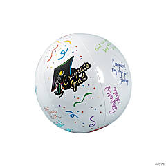 Inflatable Graduation Autograph Beach Balls