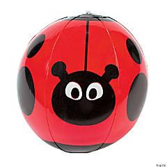 Inflatable Ladybug Character Beach Balls