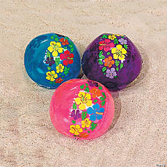 Inflatable Large Hibiscus Beach Balls