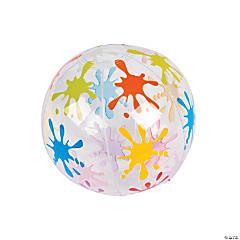 Inflatable Little Artist Mini Beach Balls