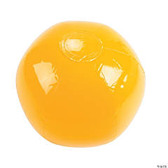 Inflatable Medium Yellow Beach Balls