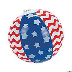 Inflatable Mini Stars & Stripes Beach Balls