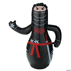 Inflatable Ninja Punch Bag