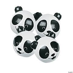 Inflatable Panda Beach Balls