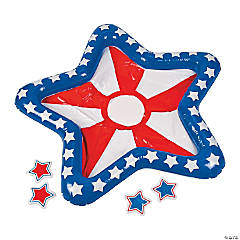 Inflatable Patriotic Toss Game