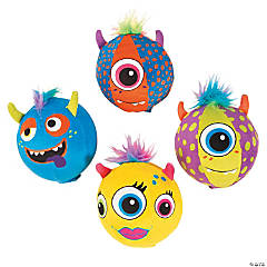 Inflatable Plush Monster Balls