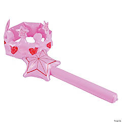 Inflatable Princess Crown & Wand