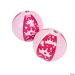 Inflatable Princess Mini Beach Balls