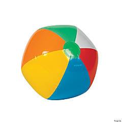 Inflatable Rainbow Beach Balls