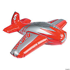 Inflatable Red Dart Airplane