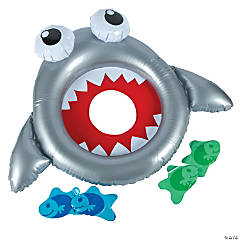 Inflatable Shark Bean Bag Toss Game