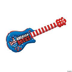 Inflatable Small Patriotic Guitars