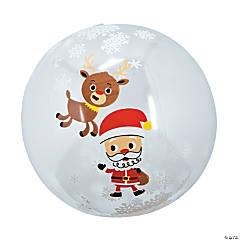 Inflatable Snow Globe Beach Balls