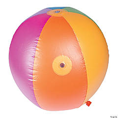 Inflatable Sprinkler Beach Ball Toy