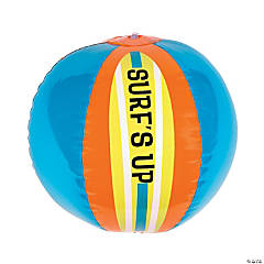 Inflatable Surf's Up Beach Balls