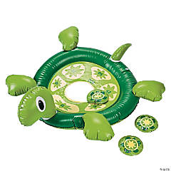Inflatable Turtle Bean Bag Toss Game