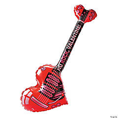 Inflatable Valentine Guitar