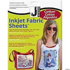 Ink Jet Fabric Sheets 10Pk-Cotton Percal