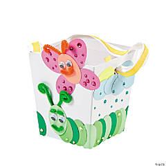 Insect Bucket With Ribbon Handle Idea