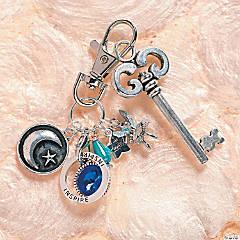 Inspirational Charm Holder Key Chain Idea