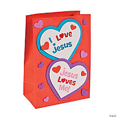 Inspirational Valentine Holder Craft Kit