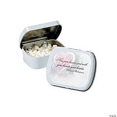 Inspirational Wedding Mint Tin Stickers