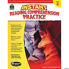 Instant Reading Comprehension Practice: Grade 2