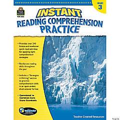 Instant Reading Comprehension Practice: Grade 3