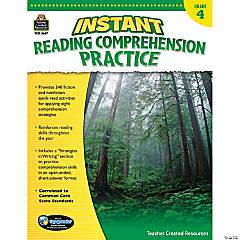 Instant Reading Comprehension Practice: Grade 4