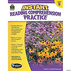 Instant Reading Comprehension Practice: Grade 5