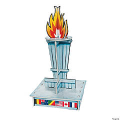 International Games Torch Centerpiece