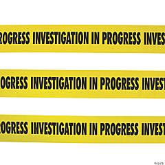 Investigation in Progress Party Tape