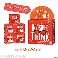 Invisible Think: Classroom Set of 6