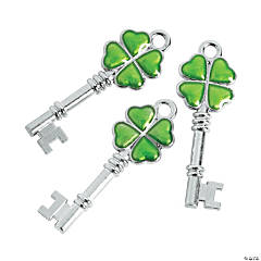 Irish Key Charms
