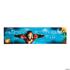 Iron Man 3™ Birthday Banner
