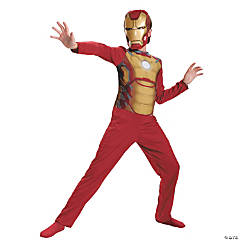 Iron Man Mark 42 Boy's Costume