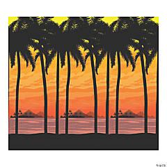 Island Luau Sunset Scene Setter