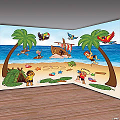 Island VBS Design-a-Room Backdrop Pack