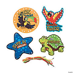 Island VBS Lacing Cards