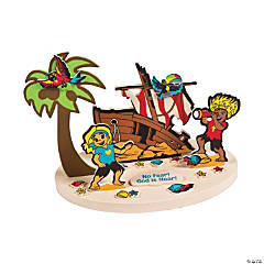 Island VBS Message Floating Craft Kit