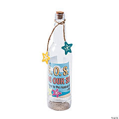 Island VBS Message in a Bottle Craft Kit