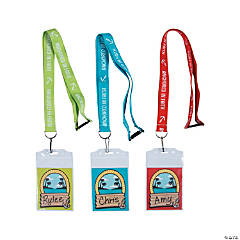 Island VBS Name Tag Lanyards