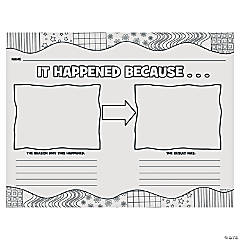 It Happened Because...Katie Woo Printable Worksheet