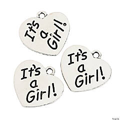 It's a Girl Charms